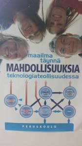 Kuva Kuoppanummen koulun OPO -nurkassa olevast julisteesta.